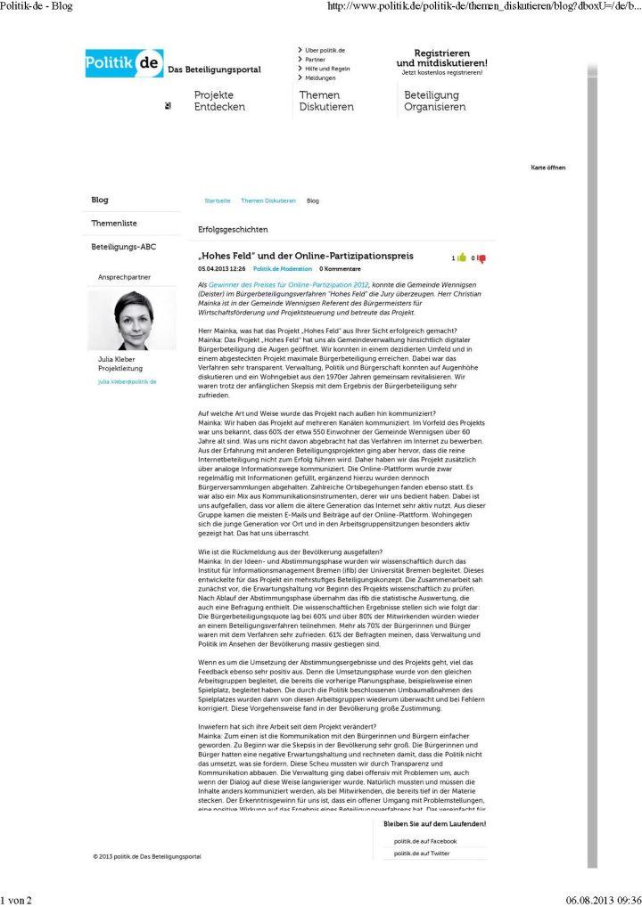 Interview Bürgerbeteiligung 2.0 Politik-de - Blog_Seite_1